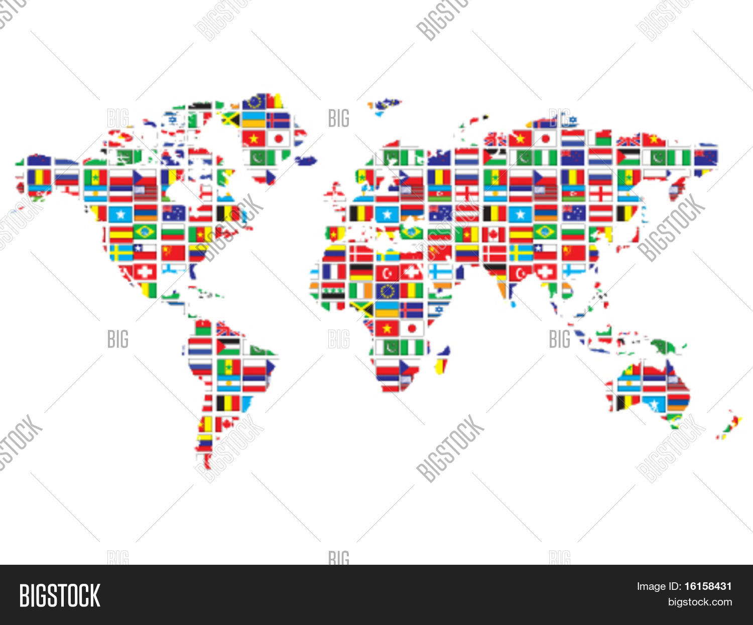 World map flags vector photo free trial bigstock world map with flags gumiabroncs Image collections