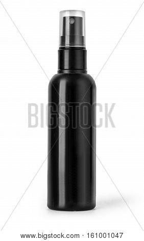 Black Plastic Bottle Spray \
