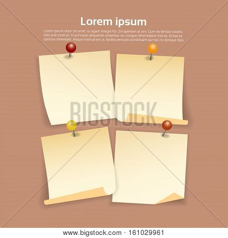 Sticker Set Infographic Business Collection Copy Space Vector Illustration