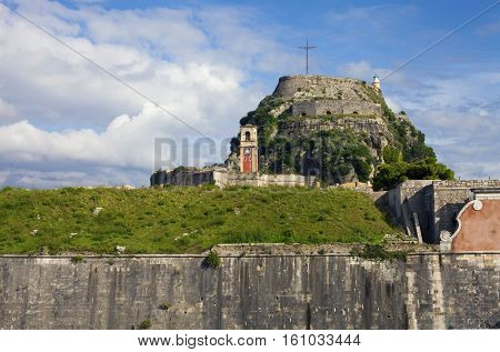 View Of Old Fortress Of Corfu