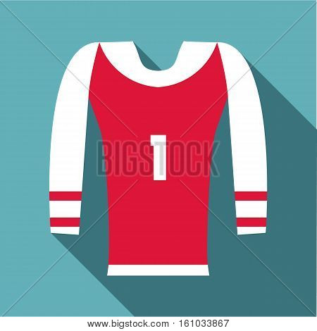 Sport uniform icon. Flat illustration of sport uniform vector icon for web design