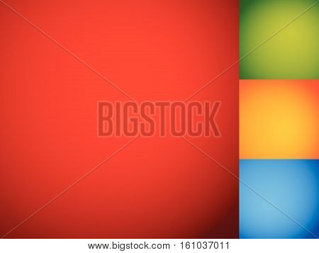 Set Of Smooth Colorful Backdrops / Backgrounds With Mixed Gradients (no Gradient Meshes)