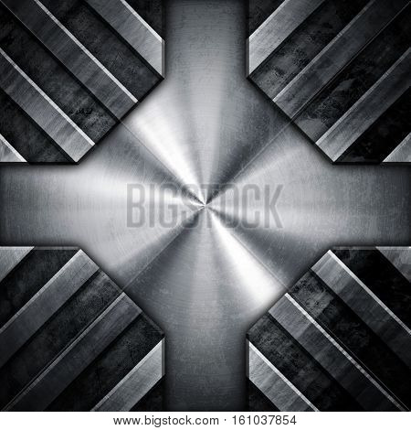 abstract metal design background