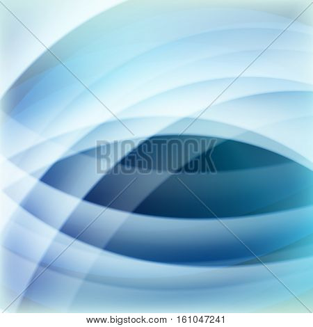 blue line wave abstract backgrounds for decoration