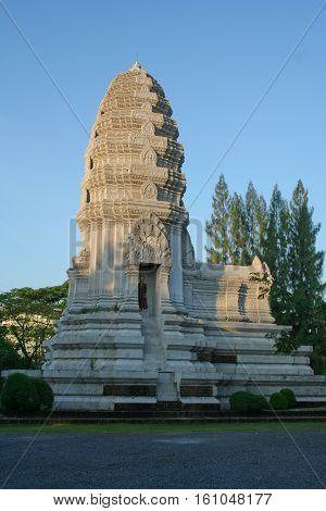 Historic buildings at ANCIENT CITY, Samutprakarn, Thailand