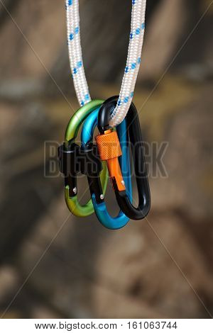 Carabiner For Climbing.