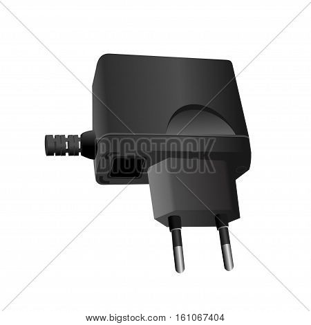 Charger on a white background. Vector illustration