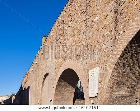 Passetto Di Borgo Passage In Rome