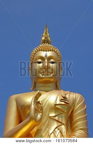Golden Big Buddha Statue