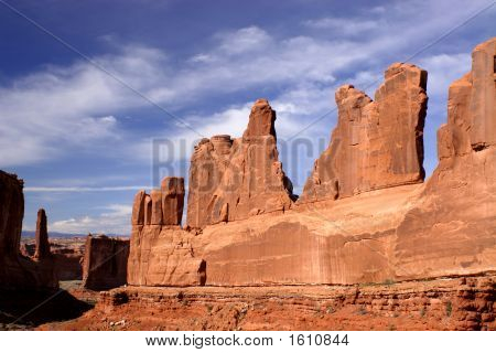Arches National Park Stone Fins