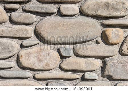 close up of wall with stone veneer