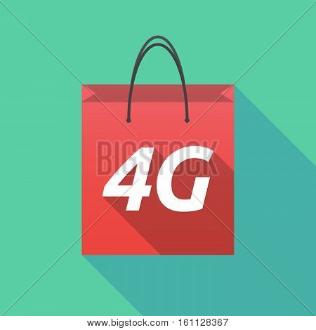 Long Shadow Shopping Bag With    The Text 4G