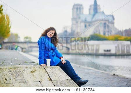 Beautiful Young Tourist In Paris