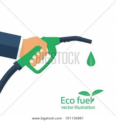 Eco Fuel. Vector