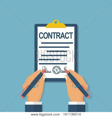 Signs A Contract Partner
