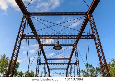 CANADIAN RIVER WAGON BRIDGE