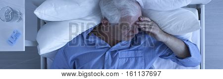 Elderly Man With Painful Headache