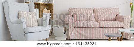 Comfortable Armchair And Sofa
