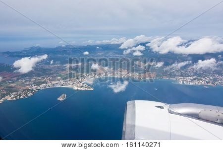 Airborne Over Palma Bay
