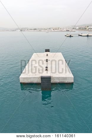 Concrete Jetty Block