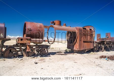 Iron Machine In Bolivia
