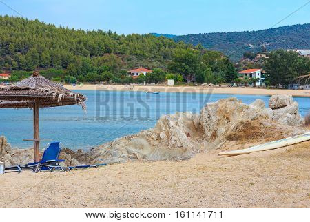 Summer Morning Beach (chalkidiki, Greece).