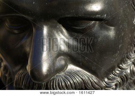 Bronze Warrior Face