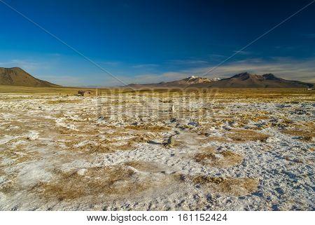 Empty Wilderness In Bolivia