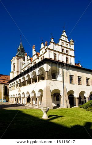 former town hall, Square of Master Paul, Levoca, Slovakia