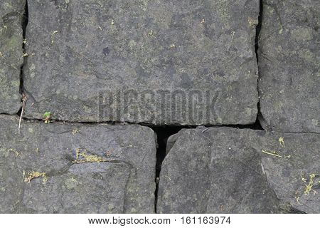 Cold greystone texture. Macro granit background (texture)