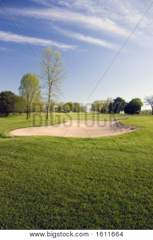 Golf Course Bunker