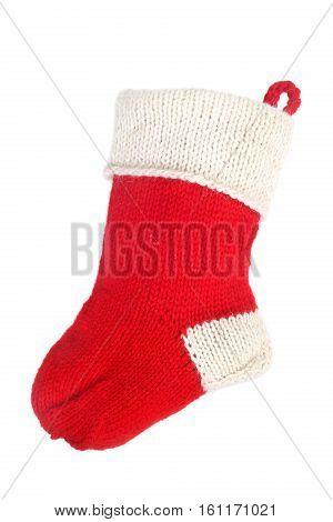 Red Christmas Sock