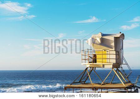 Lifeguard tower in La Jolla San Diego