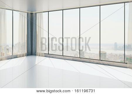 Unfurnished Concrete Interior Side