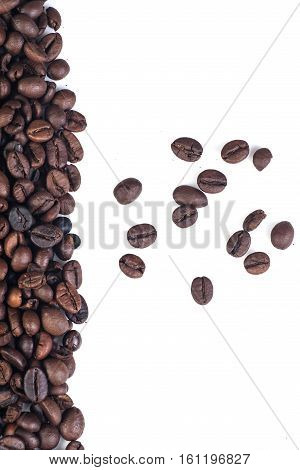 beans, coffee, cofee, white, background, isolated, roasted, breakfast, coffe, closeup, grain, healthy, brown, backdrop, nobody, clean, dark, energy, agriculture, gourmet, picture, beverage, seed, harmony, aroma