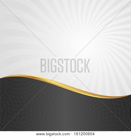 abstract background divided into two - vector illustration