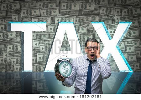 Businessman fearful of high taxes