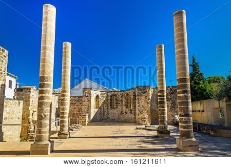 Ruins of the San Juan Bautista Church in Baeza - Spain
