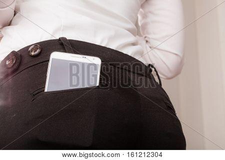 Samsung Galaxy Note 3 N9005 In Pocket On December 4, 2014, Poland