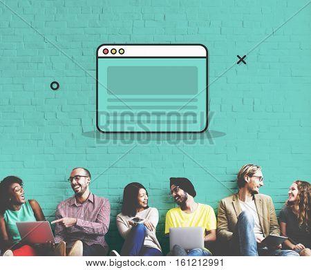 Browser Internet Online Website Search Engine Concept