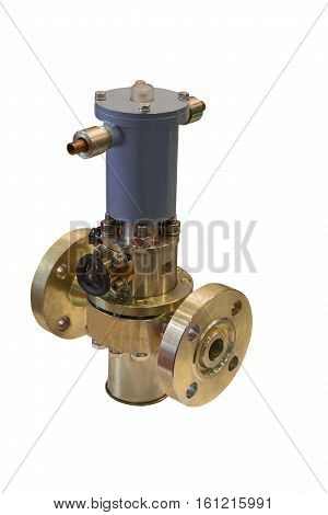 modern high-speed solenoid valve ensures safe operation of gas supply systems