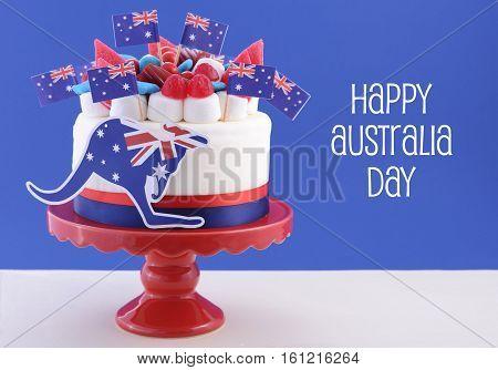 Happy Australia Day Celebration Cake