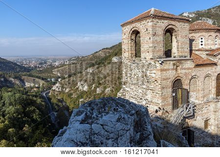 Church of the Holy Mother of God in Asen's Fortress and town of Asenovgrad, Plovdiv Region, Bulgaria