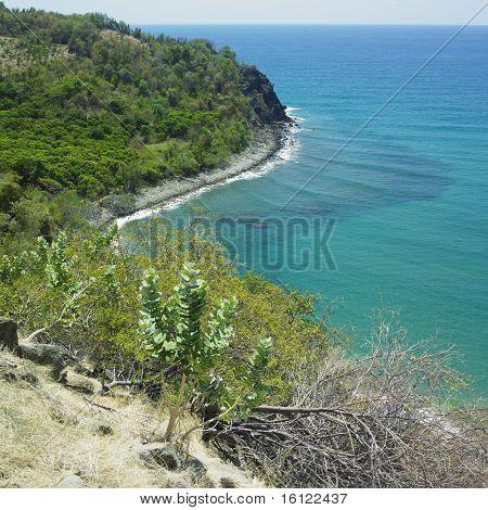 coastline, Granma Province, Cuba