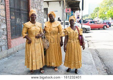 African American Women Ethnic Singers