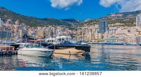 Monaco Monte Carlo City Marina