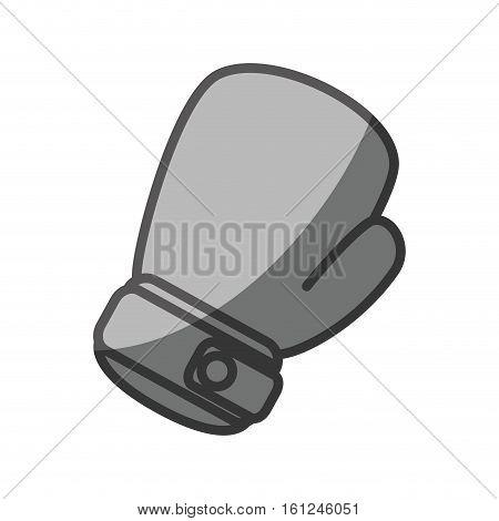 boxing gloves equipment icon vector illustration design