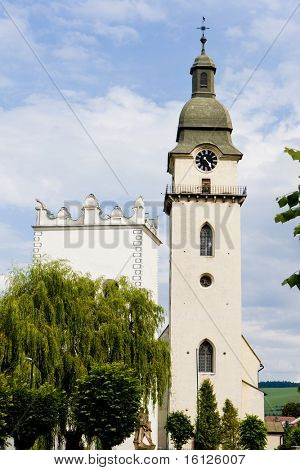 St. Anthony''s church and belfry, Spisska Bela, Slovakia