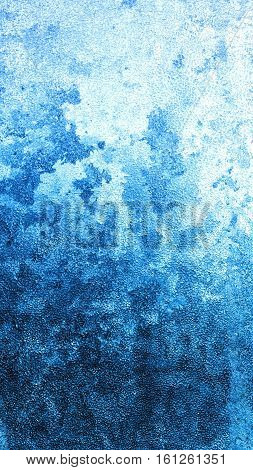 frost on glass / background bright colorful new year