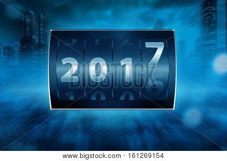 2017 Counter Digit